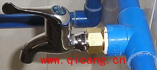 其昌JTS恒压恒流高效自动节水器安装实例
